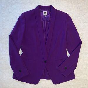 Anne Klein Blazer Purple
